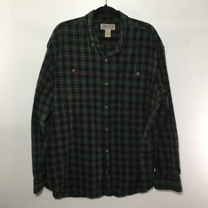 Duluth trading Co men's xl flannel.